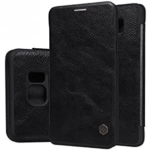 NILLKIN QIN WINDOW EXECUTIVE LEATHER FLIP FLAP COVER CASE FOR SAMSUNG GALAXY NOTE 5/NOTE 5 DUOS -BLACK