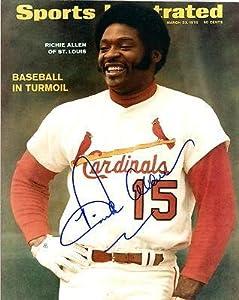 Richie Allen St Louis Cardinals Signed Autographed 8x10 Photo W coa - Autographed MLB... by Sports Memorabilia