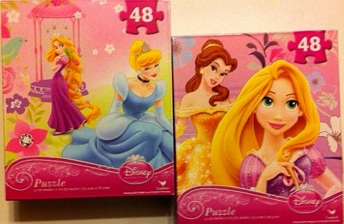 Disney Princess Tangled 48 Piece Jigsaw Puzzle - Varied Images