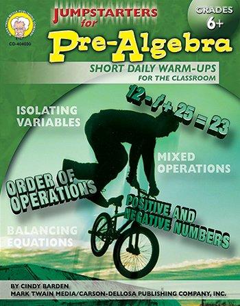 Jumpstarters for Pre-Algebra - 1