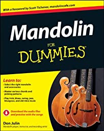 Mandolin For Dummies (For Dummies (Lifestyles Paperback))