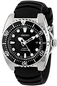 Seiko Men's SKA413 Adventure Kinetic Diver Watch