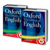 Oxford Dictionary and Thesaurus of English 2 Book Set