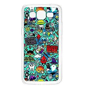 Crazymonk Premium Digital Printed Back Cover For Samsung Galaxy A5