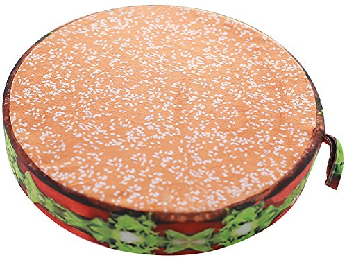 ChezMax 3D Fruit Dessert Cake Chair Seat Sofa Back Stuffed Cushion Insert Filler Filling For Decor Home Office Plush Play Toy Throw Pillow Christmas Day Hamburger