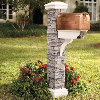 mailbox post design ideas