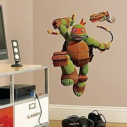 Teenage Mutant Ninja Turtles Michelangelo Wall Decal 26 x33