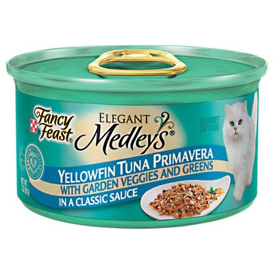 Elegant Medley Tuna Primavera Cat Food