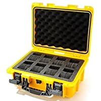 Invicta IG0098-RLC8S-Y 8 Slot Yellow Plastic Watch Box Case from Invicta
