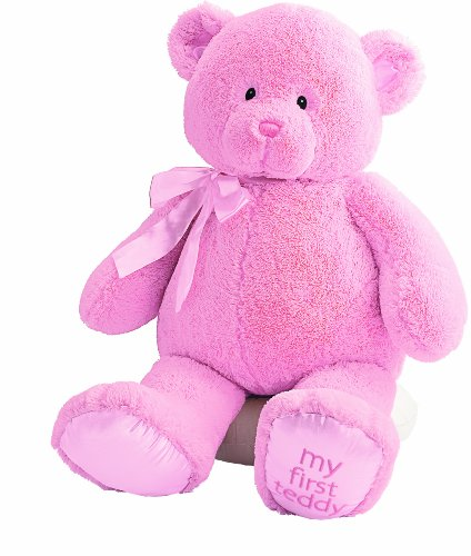 Gund Baby My First Teddy-Jumbo-Pink