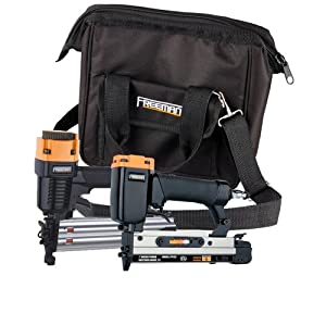 Freeman PPPBRCK 2-Piece Brad/Pinner Kit with Nails and Canvas Storage Bag from Freeman Pneumatics