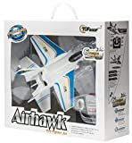 Top Race® 3 Channel F35 Fighter Jet Electric RC Airplane Ready to Fly (Indoors)