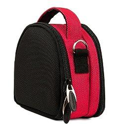 VangoddyTM Hot Pink VG Laurel Edition Stylish Nylon Camera Carrying Case Pouch