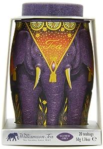 Williamson Tea Medium Elephant Dusk Lilac - Duchess Grey