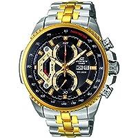 Casio Edifice Tachymeter Chronograph Black Dial Men's Watch - EF-558SG-1AVDF (ED439)