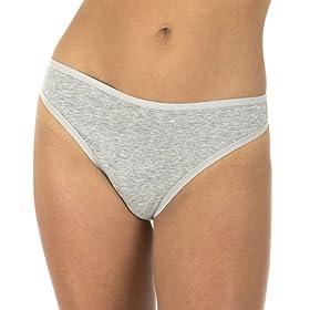 Gilligan & O'Malley® Cotton Thong 3 pk. - Basic Colors