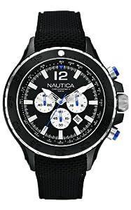 Nautica Men's Quartz Watch A22625G with Rubber Strap
