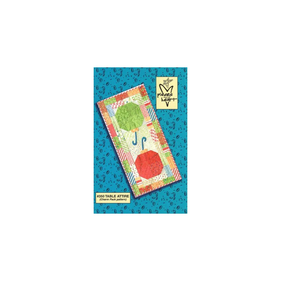 Holly Jolly Quilted Table Runner Kit   Top Only By The