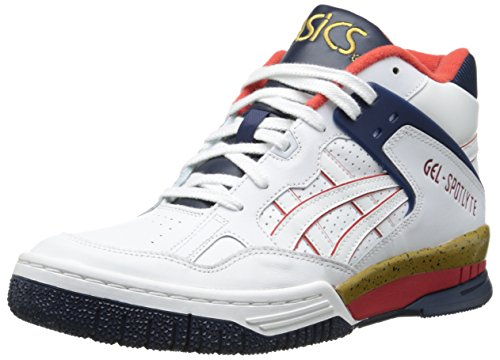 ASICS Men's Gel Spotlyte Fashion Sneaker,White/White,11.5 M US