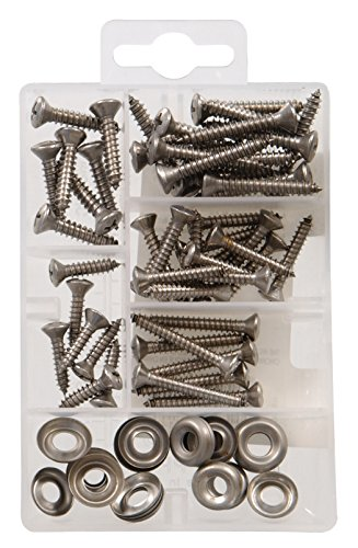 The Hillman Group 130213 Oval Head Phillips Sheet Metal Screw, Stainless Steel шляпа bailey арт 38341bh hillman коричневый бежевый