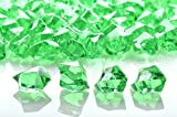 Grass Green Gem Stones - 3/4 lb Bag