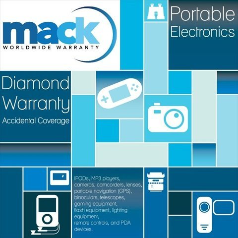 Mack Warranty 1605 5 Year Diamond Portable Electronics Warranty Under 750 Dollars