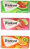 Trident Sugar-Free Gum Fruit Variety Pack 16 Count