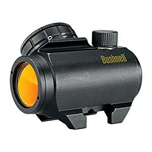 Bushnell Trophy Red Dot TRS-25 3 MOA Red Dot Reticle Riflescope, 1x25mm (Matte),Colors May Vary