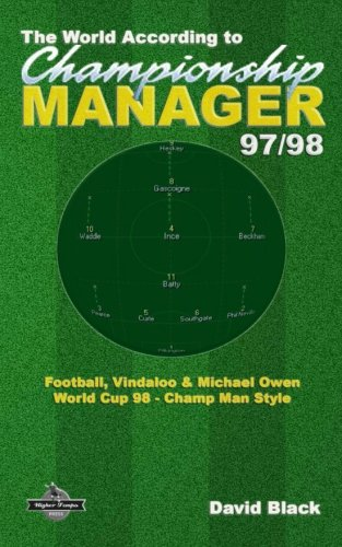 The World According to Championship Manager 97/98: Football, Vindaloo & Michael Owen - World Cup 98 Champ Man style