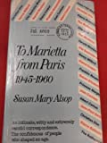 img - for To Marietta from Paris, 1945-60 book / textbook / text book