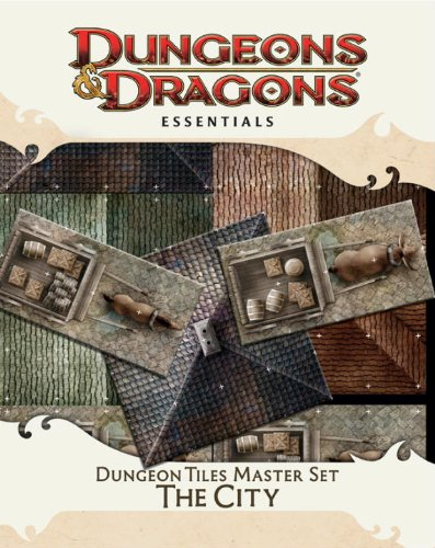 Dungeon Tiles Master Set – The City: An Essential Dungeons & Dragons Accessory (4th Edition D&D)