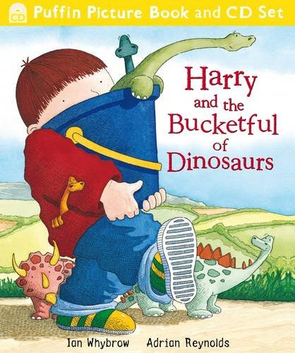 Harry and the Bucketful of Dinosaurs (Book & CD)