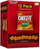 Cheez-It Baked Snack Crackers Snack Bags - Reduced Fat - 1 oz - 12 ct