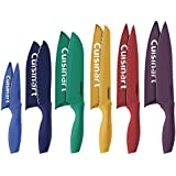 Cuisinart 12 Piece Color Knife Set with Blade Guards, Jewel