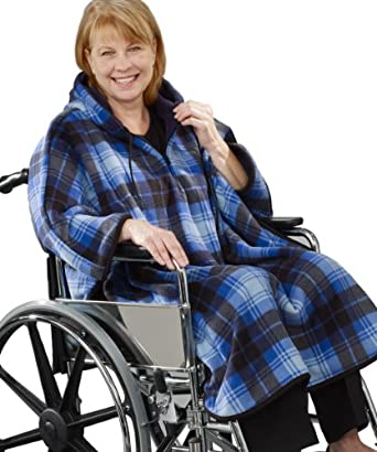 Amazon.com: Adaptive Wheelchair Clothing Cape Poncho For Women & Men