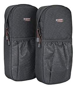 Tamrac SPX-757 - Medium Backpack Side Pockets, Set of 2, Black