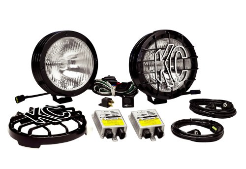 Kc Hilites 863 Rally 800 Series Black Coated Stainless Steel 50W Hid Driving Light System