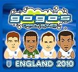 Crazy Bones Gogos England Football (Soccer) Booster Pack 2 Crazy Bones