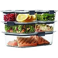 14-Piece Rubbermaid Brilliance Food Storage Container