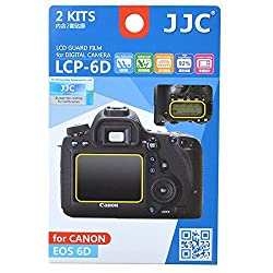 JJC LCP-6D Guard Film Digital Camera LCD Screen Protector For Canon EOS 6D