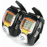 AGPtek State-of-the-art Fashionable Wristwatch Walkie Talkie Wristwatch Spy Wrist Digital Watch With