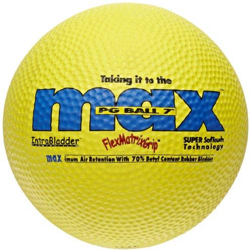 SportimeMax Playground Balls - 7 Inch - Yellow