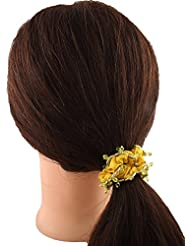 Anuradha Art Simple But Stylish Look With Hair Accessories Hair Band Stylish Rubber Band For Women/Girls