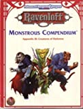 img - for Monstrous Compendium Appendix III: Creatures of Darkness (Advanced Dungeons & Dragons, 2nd Edition, Ravenloft Accessory/2153) (No 3) book / textbook / text book