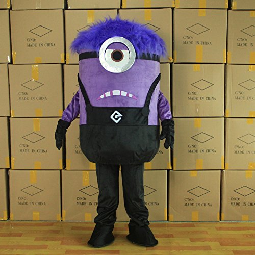 Gujin 2016 Minions Despicable Me cosplay Mascot Costume Holloween Fancy Dress (Holloween Costume Photos)