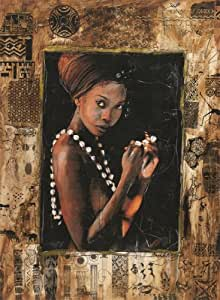 Nathan - 87178 - Puzzle - Femme Africaine - 500 Pièces