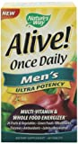 Natures Way Alive Once Daily Mens Multi Ultra Potency, Tablets, 60-Count