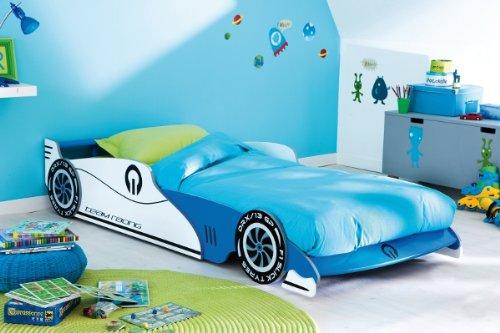 Demeyere-203893-Ausziehbares-Autobett-GRAND-PRIX-90-x-190200-cm-1015-x-405-x-209-cm-blau-und-wei