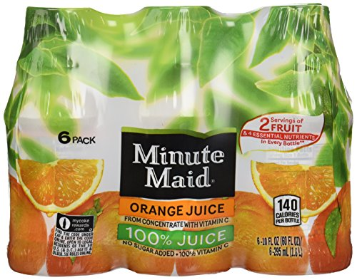 Minute Maid Juices to Go - Orange - 10 oz - 6 ct (Minute Maid Juices compare prices)