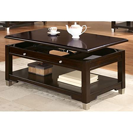 Coaster Home Furnishings 701198 Casual Coffee Table, Walnut